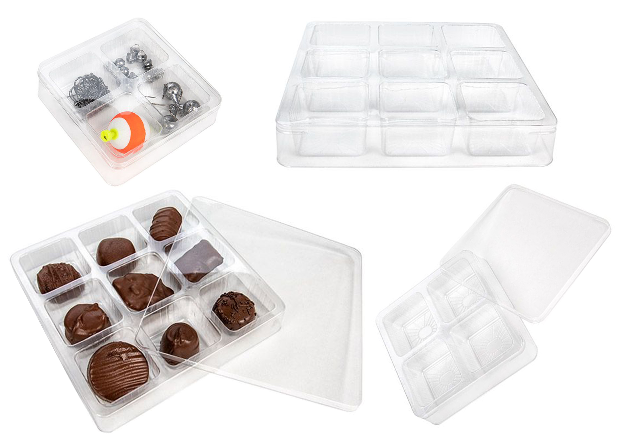 Candy Tackle Boxes