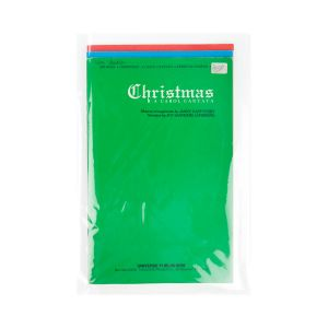 "B812NF Crystal Clear No Flap Bags – 8 7/16"" x 12 ¼"""