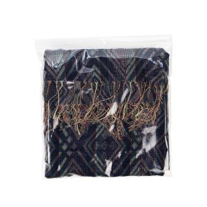 "ZR1313 2 Mil Crystal Clear Zip Bags – 13"" x 13"" (Round Hang Hole)"