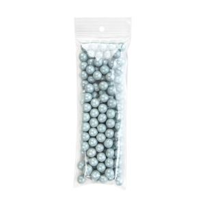 "ZR2H7 2 Mil Crystal Clear Zip Bags – 2 ½"" x 7"" (Round Hang Hole)"